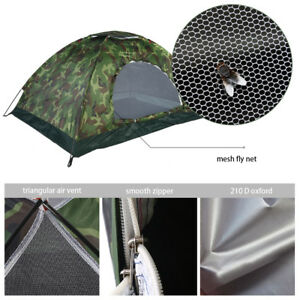 Tente-Impermeable-Protection-UV-Camouflage-2-personnes-Randonnee-Camping