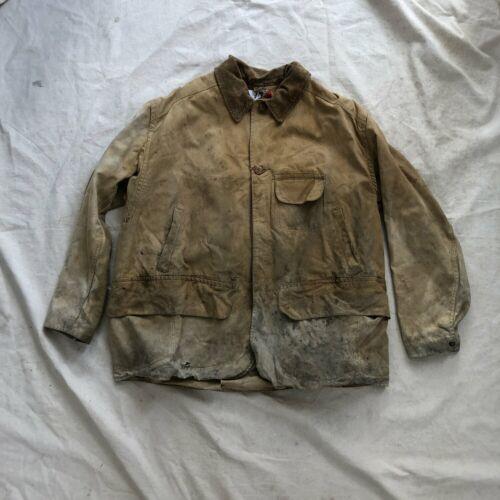 Vintage 1940s Duxbak Hunting Jacket Canvas Corduro