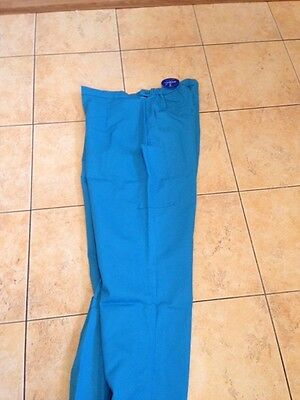 Hospital/healthcare Scrubs Trousers Peacock Assorted Sizes Bnwt Great Quality Attraktive Mode