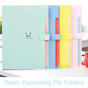 A4-Paper-Expanding-Office-Pocket-File-Folder-Document-Organiser-Storage-Case-UK