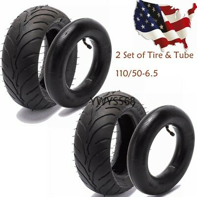 110//50-6.5 Tire with Tube 110 50 6.5 Tyre For Mini Pocket Bike Scooter Dirt Bike