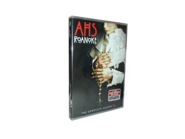 American Horror Story: Roanoke Season 6 (DVD, 2017, 3-Disc Set)