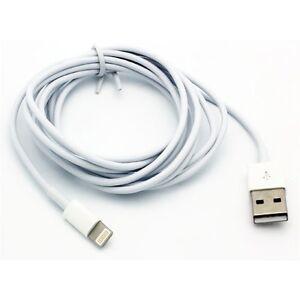 POUR IPHONES/iPads-blanc 6 Ft (environ 1.83 m) Long Câble USB Data Sync cordon de charge Power Wire
