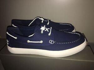 lienzo hombres de 8 marino azul 5 embarcaciones para para Timberland Nuevo tamaño Zapatos gaXSAW8x
