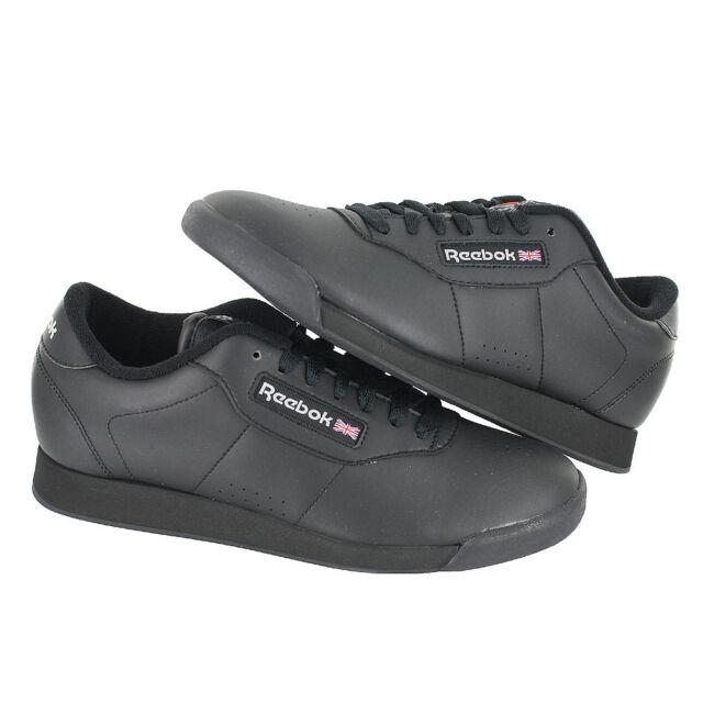 7d35a9625fd1 Buy Reebok Princess Wide D Womens Classics Shoe Black 6 online