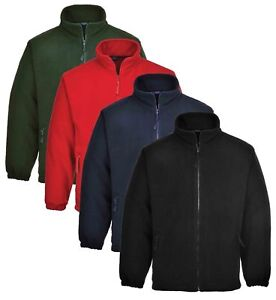 Portwest-Argyll-Heavy-Fleece-Jacket-Thermal-Insulated-Zip-Jumper-Anti-Pill-F400