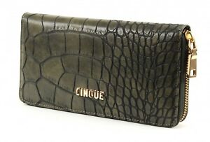 2a5e93c13b9a3 Das Bild wird geladen CINQUE-Donna-Zipper-Wallet-L-Geldboerse-Portemonnaie- Damen-