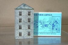 SD MOULDINGS 216 KIT BUILT N GAUGE 4 STORY MILL WAREHOUSE FACTORY BUILDING mz