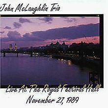 Trio Live at Royal Festival von Mclaughlin,John   CD   Zustand akzeptabel