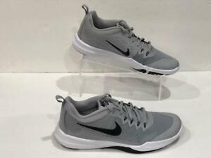 b50be8bfe Nike Legend Trainer 924206-011 Wolf Grey Black Training Gym Shoes NO ...