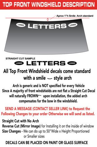 """Stingray  C7 /"""" CORVETTE /"""" WORD w Logos WINDSHIELD DECAL STICKER 46/""""w x3/""""h"""