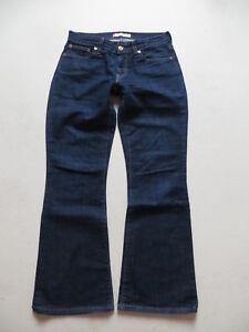 Levi-039-s-529-Bootcut-Jeans-Hose-W-29-L-30-dark-Indigo-Stretch-Denim-KULT-36