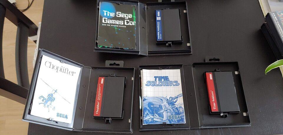 Sega Master System Spil Til Salg, Sega Master System
