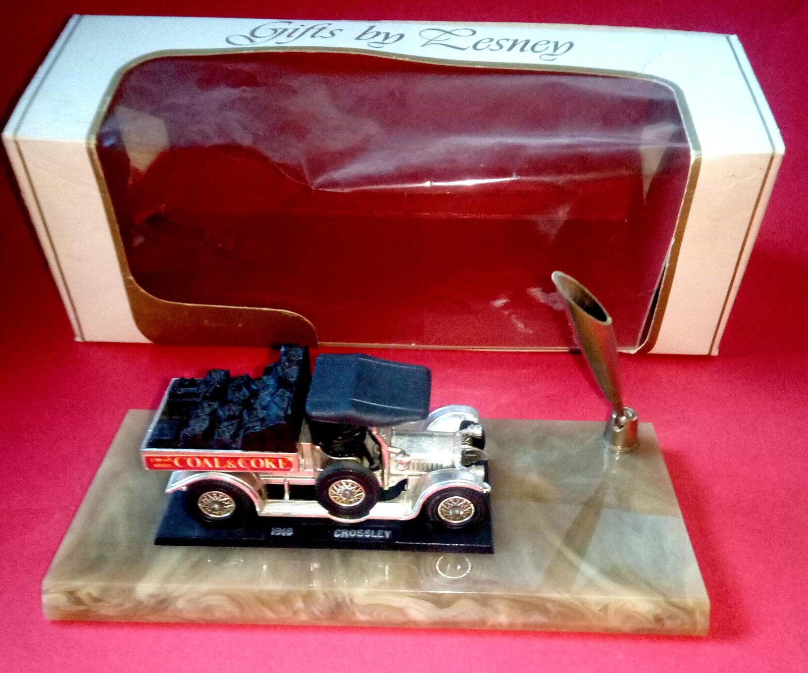 Matchbox Yesteryear MOY Y-13 Crosssley 1918 Single Pen Holder Coal Coal Coal & Coke OVP eadb79