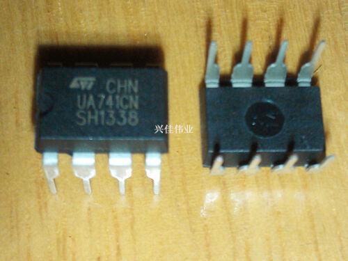 100PCS UA741CN DIP-8 UA741 LM741 ST OPERATIONAL AMPLIFIERS IC