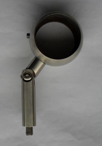 Edelstahl Handlaufstütze V2A Halter Handlaufträger Pfosten Gelenk Konsole VA