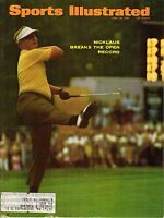 1967 Sports Illustrated Magazine,Golf, Jack Nicklaus, Breaks U.S. Open Record~Gd
