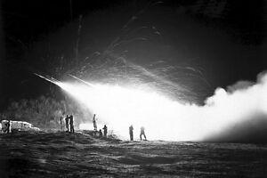 New-5x7-Korean-War-Conflict-Photo-First-Rocket-Battery-11th-Marine-Regiment