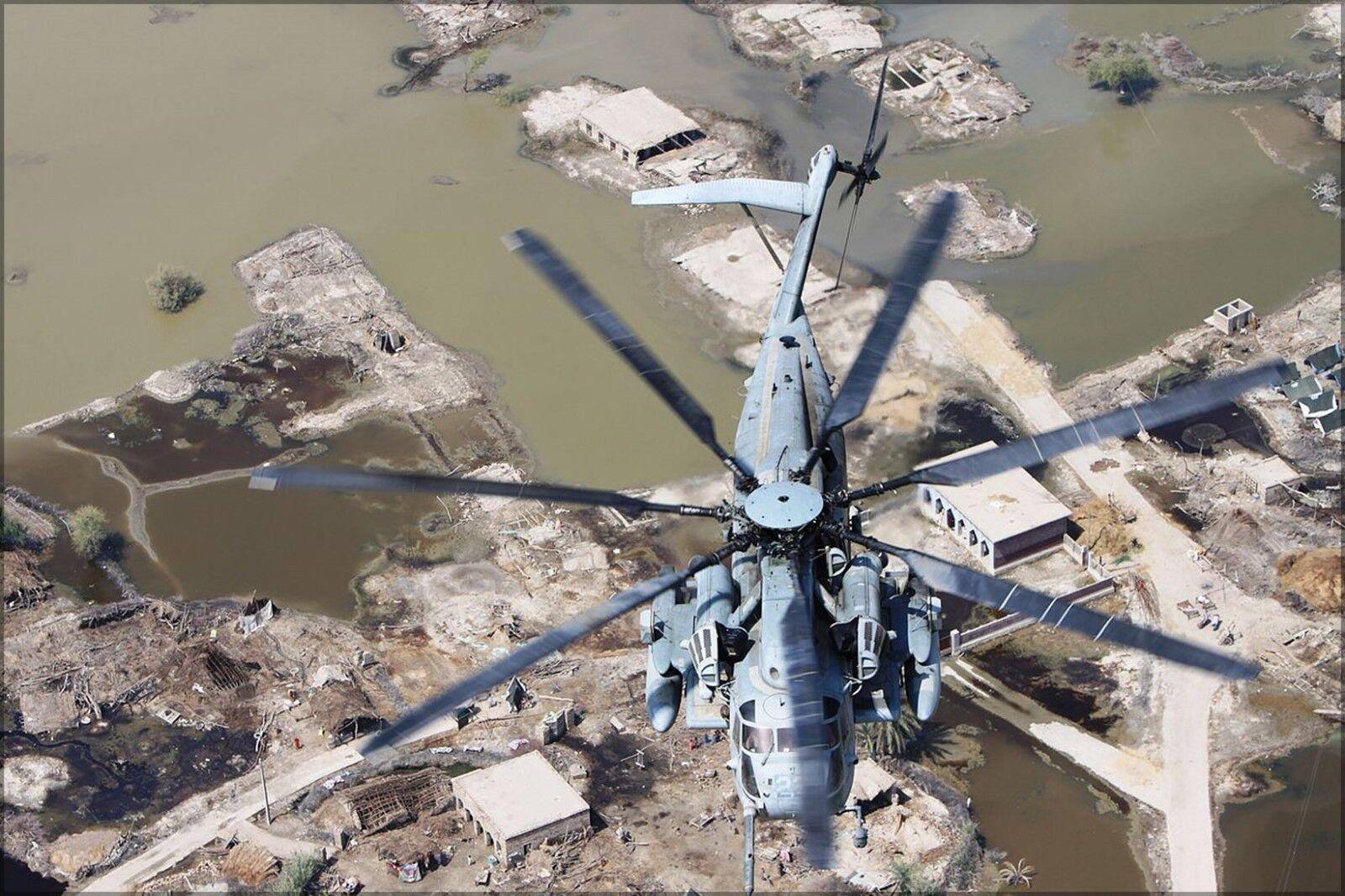 Poster, Molte Misure; Misure; Misure; Ch-53e Super Stallion Helicopter Pakistano fa62cf
