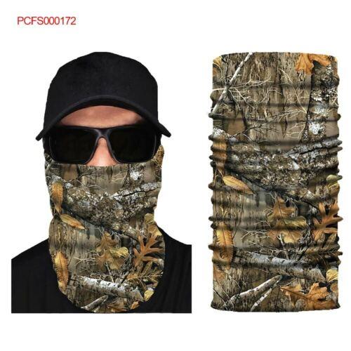 Multi-fun Face Shield Sun Mask Neck Gaiter Balaclava Fishing Scarf Headwear #171