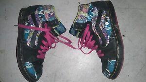 7 montantes l'intérieur Voir Baskets du dégâts Multicolore 41 talon Petits Vans photo Noir à F4Eq6Zx