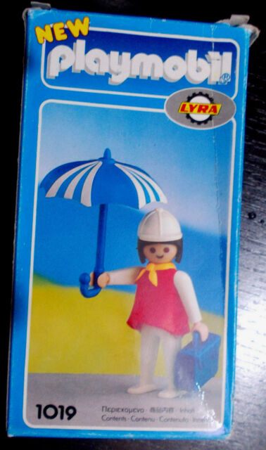 PLAYMOBIL NEW LYRA # 1019  MADE IN GREECE 1978 GREEK VINTAGE NEW RARE