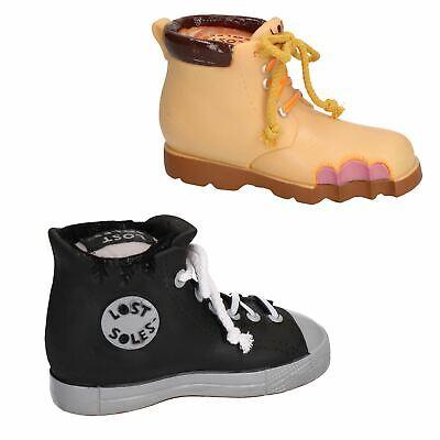 Vinile Perso Suole Sneaker & Work Boot Giocattolo Per Cane Bundle Con Squittio-mostra Il Titolo Originale