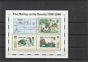Isle-of-Man-Norfolk-Island-1989-Bounty-M-S-from-both-countries