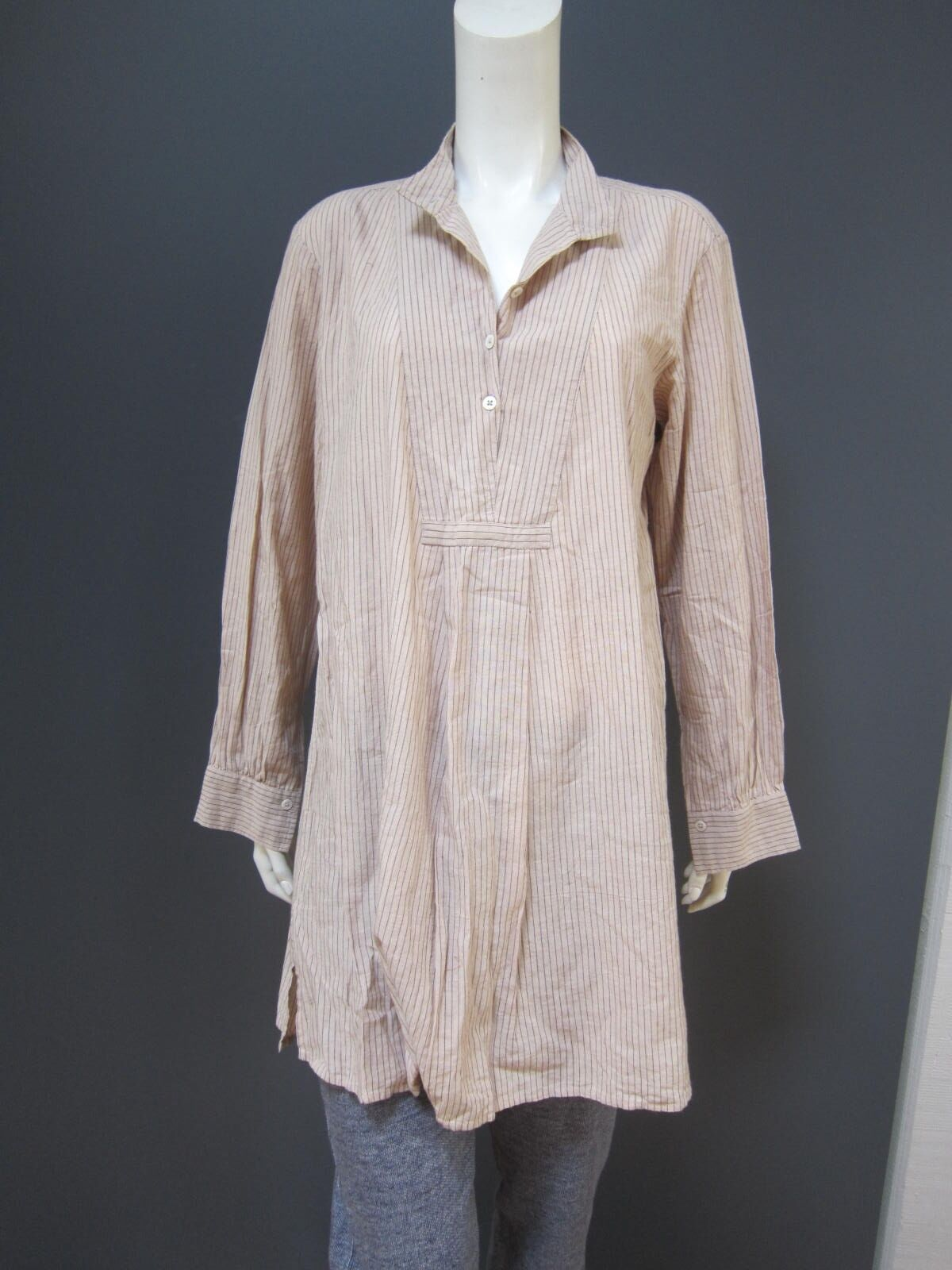 KHADI and Co BESS NIELSEN 100 % cotton top, NEW with TAG Größe L