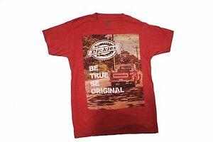 Dickies-Logo-LightCoral-Soft-Touch-Be-True-Be-Original-T-Shirt-Size-M-2XL