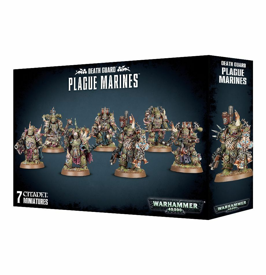 Warhammer 40k - - tod - pest marines - 40k brand new in box - 43-55 7790ac