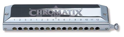 New! Genuine Suzuki SCX-64 Chromatic Harmonica 16 Holes 64 Sounds Standard