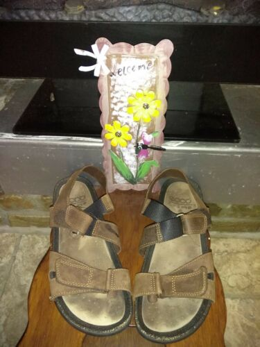 ECCO Cosmo Men's Leather Sandals Size 45/12