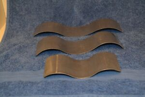 small-Stainless-Steel-grade-304-double-Wave-S-Curve-Mold-Glass-Mould-set-of-3