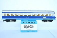 Kleinbahn HO/DC 5045 Triebwagen Blauer Blitz Anhänger 84VS ÖBB (CQ/511-33R4/6)