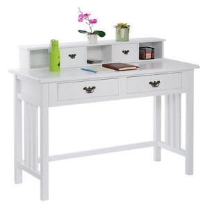 Writing Desk Mission White Home Office Computer Desk 4