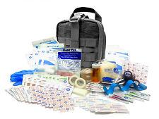 Military Rip-Away EMT First Aid Kit - IFAK Level 1 Army Medic - Black #FA16