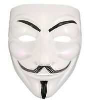 10x Anonymous V Vendetta Costume Mask Fawkes Halloween Party Fancy Dress Cosplay