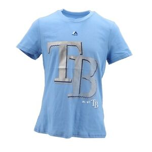 Tampa-Bay-Rays-Official-MLB-Majestic-Kids-Youth-Girls-Size-T-Shirt-New-with-Tags