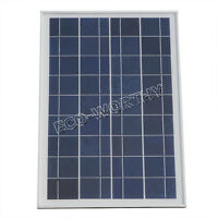 25 Watt 12V Poly Solar Panels PV Solar Modules for Home Yacht Battery Charge