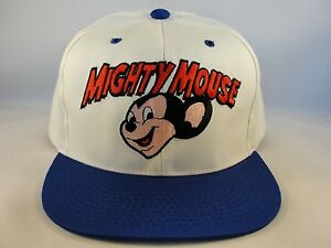 a121ebb7c48 Image is loading Kids-Youth-Size-Mighty-Mouse-Vintage-Snapback-Cap-