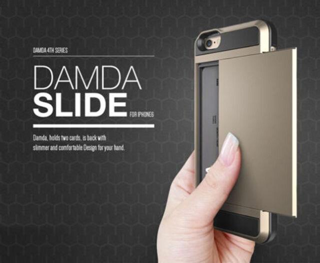 Fin Carte Portefeuille de Poche Coque Rigide pour Apple IPhone 6 6 Plus 5S 5