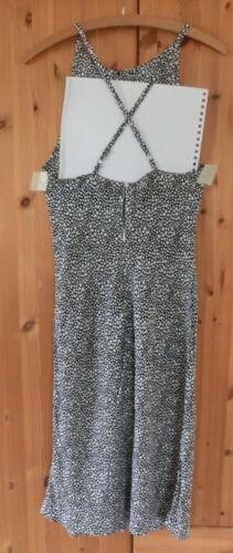 40 139 Np Gr Benetton € M Verstellbare Träger Kleid Rar Mit qBwfp40