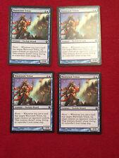 MTG X4 Wavecrash Triton Theros Magic the Gathering Blue Creature Cards