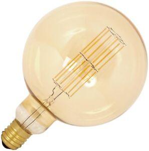 Calex-Giant-Mega-Globe-LED-Birne-dim-Filament-Gold-11W-2100K-200mm-Big-Boy-E40