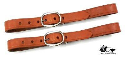 "Hilason Western Leather Horse Breast Collar Tugs W// 1/"" Wide 26/"" Length Brown U-9"