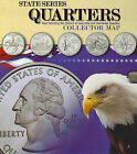 State Series Quarter Collector Map by Whitman Publishing (Hardback, 2006)