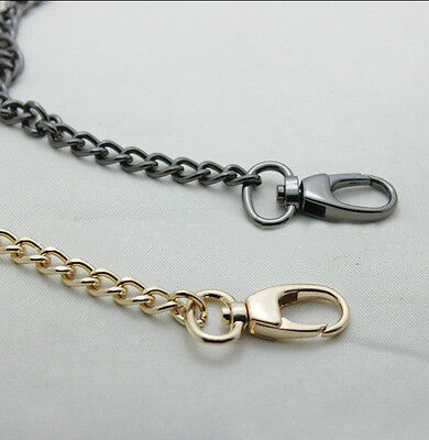 Hot 40 ~ 120 CM Round buckle Smooth Metal Chain for Handbag purse or Bag BA53