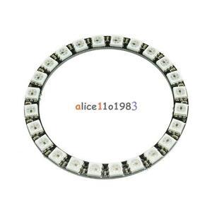 WS2812B-5050-RGB-LED-Ring-24Bit-RGB-LED-Integrated-Drivers-For-Arduino