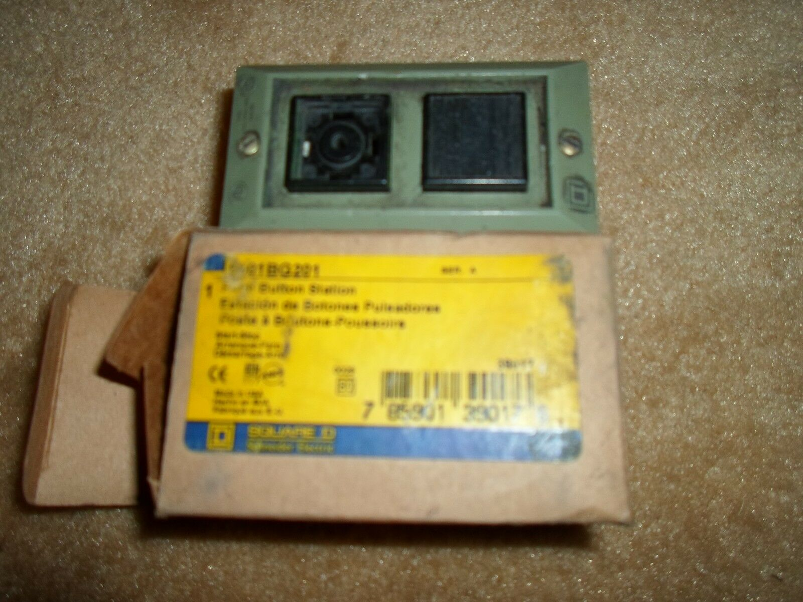 Square D 9001BG201 SER.A NSFP ** GENUINE **